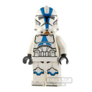 Product shot LEGO Star Wars Minifigure 501st Clone Trooper