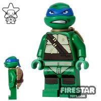 Product shot LEGO Teenage Mutant Ninja Turtles Mini Figure - Leonardo - Snarl