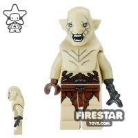 Product shot LEGO The Hobbit Mini Figure - Azog - Open Snarl