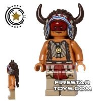 Product shot LEGO The Lone Ranger Mini Figure - Red Knee