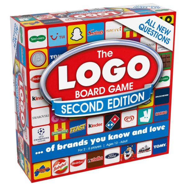 Product shot Logo Board Game Second Edition