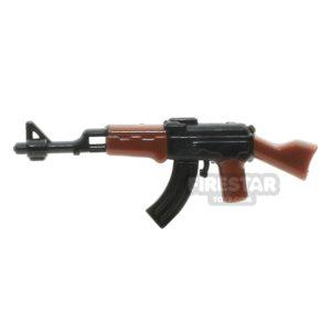 Product shot SI-DAN - AK47 - Black and Brown/Gold