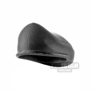 Product shot SI-DAN - BQ7 Beret - Black