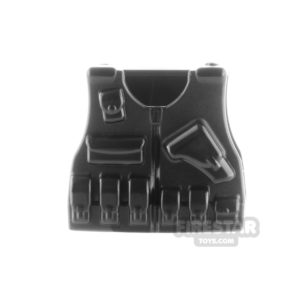 Product shot SI-DAN - BR7 Tactical Vest - Black