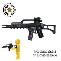 Product shot SI-DAN - G36C - Black