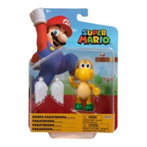 Super Mario 10cm Figure - Green Para Koopa Troopa with Wings