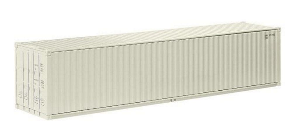 Product shot 40Ft Sea Container Accessory in White