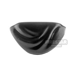 Product shot Arealight - Shawl - Black Flexible Plastic