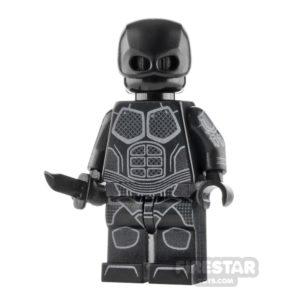 Product shot Custom Design Minifigure The Boys Black Noir