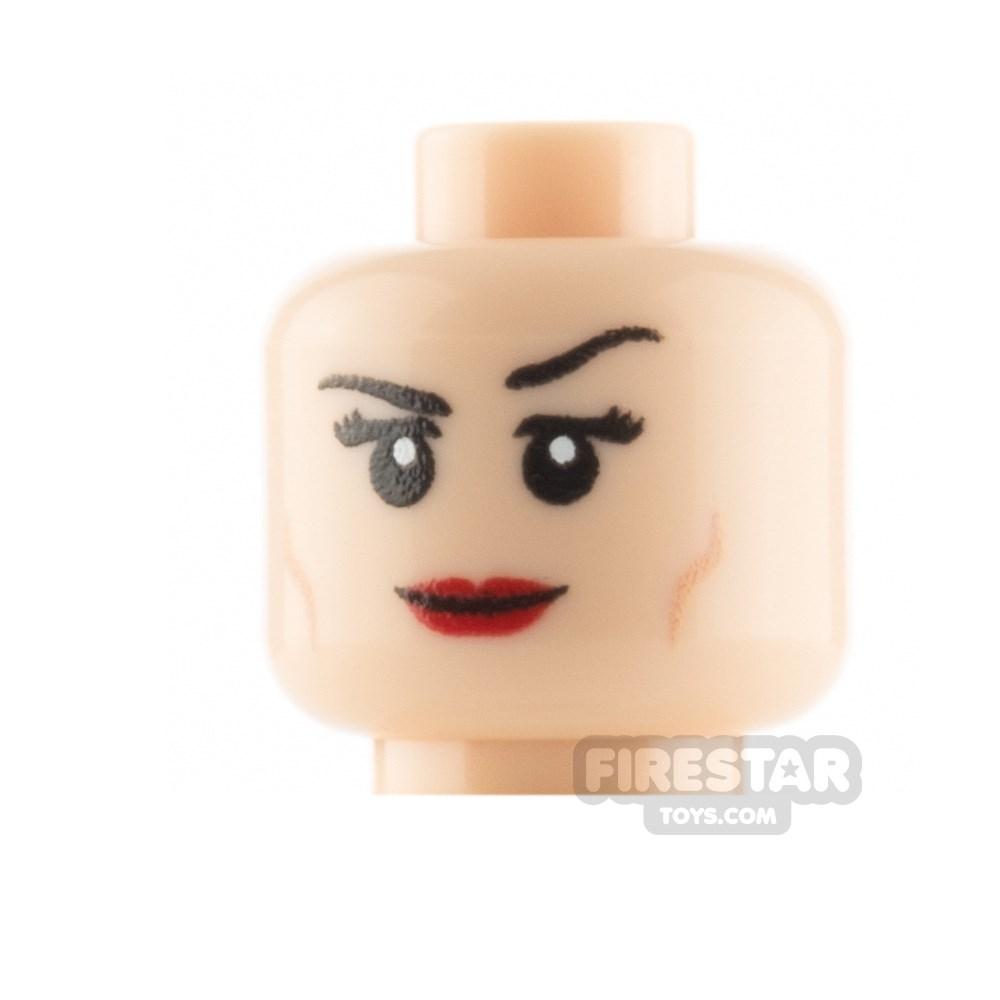 Product shot Custom Mini Figure Heads - Smile - Light Flesh