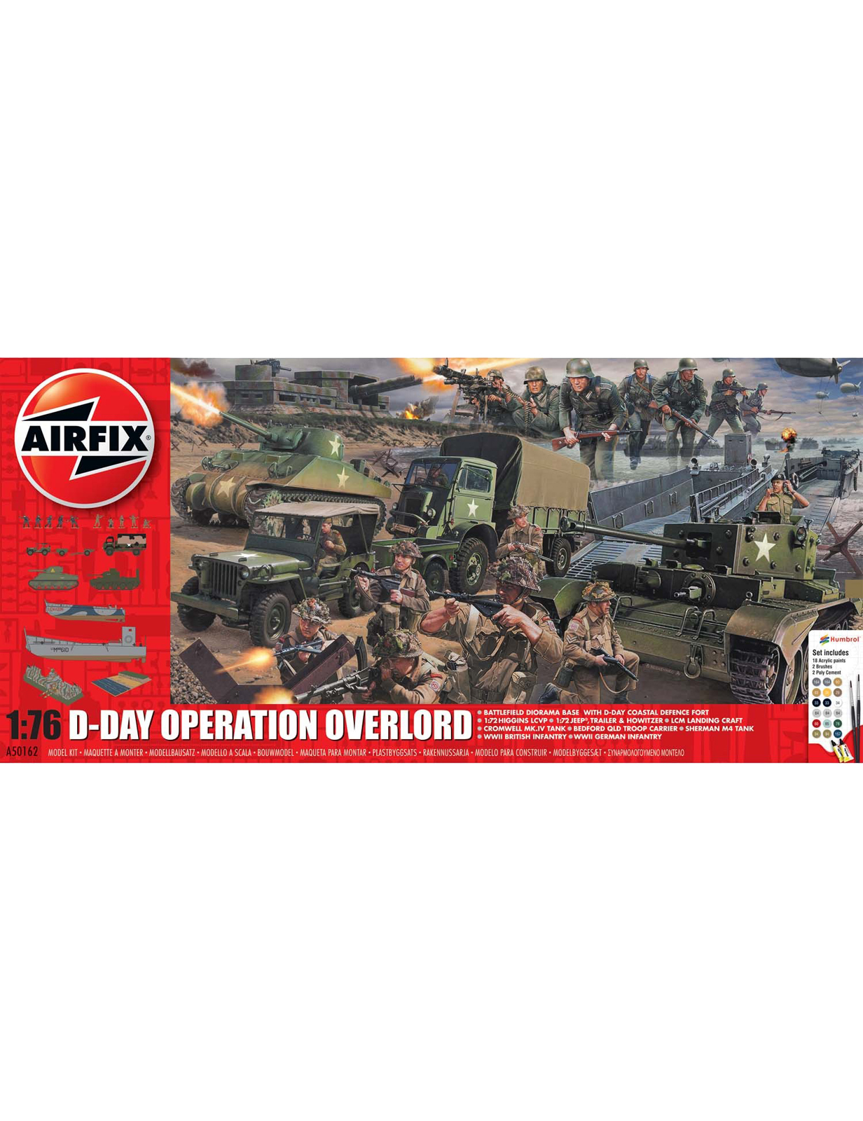 Product shot D-Day Operation Overlord Set [Kit]