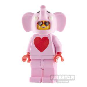 Product shot LEGO City Minifigure Love Elephant