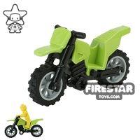 Product shot LEGO Dirt Bike Lime and Black