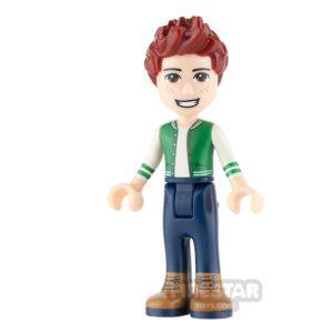 Product shot LEGO Friends Mini Figure - Daniel - Dark Blue Trousers