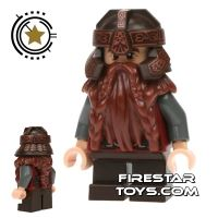 Product shot LEGO Lord of the Rings Mini Figure - Gimli