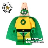 Product shot LEGO Spongebob Mini Figure - Patrick Superhero