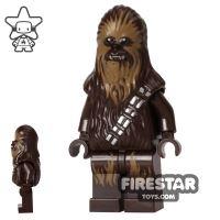 Product shot LEGO Star Wars Mini Figure - Chewbacca - Dark Tan Face