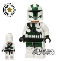 Product shot LEGO Star Wars Mini Figure - Clone Commander Gree