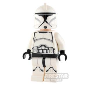 Product shot LEGO Star Wars Mini Figure - Clone Trooper - Printed Legs