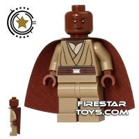 Product shot LEGO Star Wars Mini Figure - Mace Windu