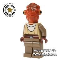 Product shot LEGO Star Wars Mini Figure - Nahdar Vebb