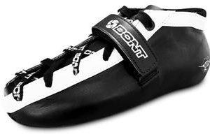 Bont Quad Hybrid Microfibre Black With White Trim Derby Boot