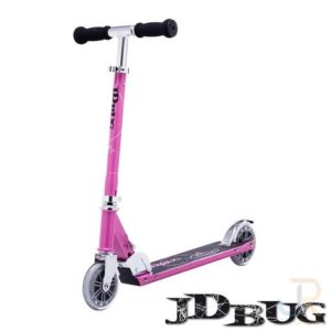 JD Bug Classic Street 120 Scooter - Pastel Pink