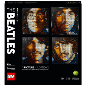 LEGO Art The Beatles Set for Adults Wall Décor (31198)