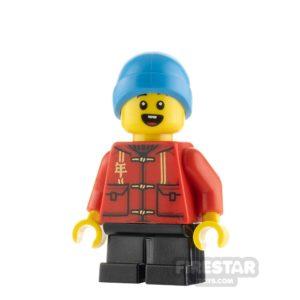 Product shot LEGO City Minifigure Boy with Tang Jacket