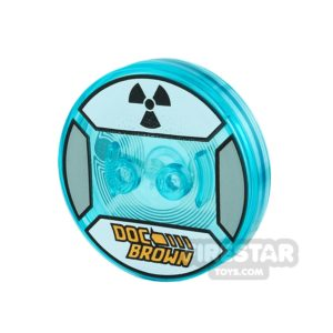 Product shot LEGO Dimensions Toy Tag - Doc Brown