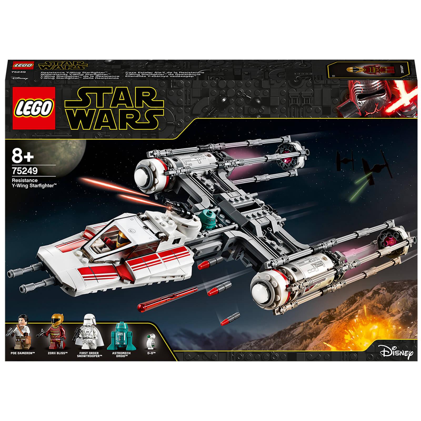 LEGO Star Wars: Resistance Y-Wing Starfighter Set (75249)