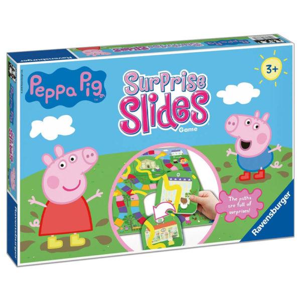 Product shot Peppa Pig Surprise Slides Board Game