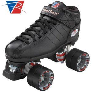 Riedell R3 Jam Quad Roller Skate Black - Adult Sizes