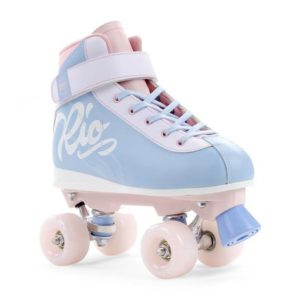 Rio Roller Milkshake Quad Skates - Cotton Candy - Kids