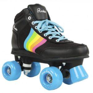 Rookie Roller Skates Forever Rainbow - Black