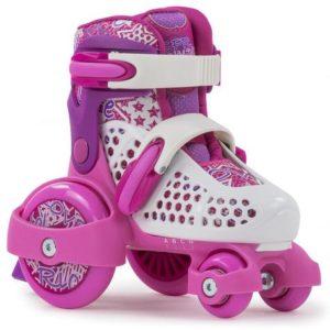 SFR Kids Stomper Adjustable Quad Skates - Pink