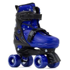 SFR Nebula Adjustable Quad Skates - Blue - Kids