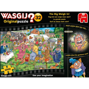 Product shot Wasgij Original 32 The Big Weigh In 1000 Piece Puzzle