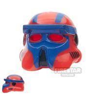 Product shot Arealight - AL Gunner Driver Helmet - Red