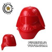 Product shot Arealight - Assault Helmet - Red