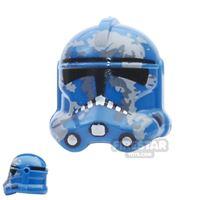 Product shot Arealight - Camo Trooper Helmet - Blue