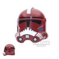 Product shot Arealight - FX Trooper Helmet - Dark Red