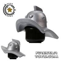 Product shot BrickForge - Gladiator Helmet - Silver