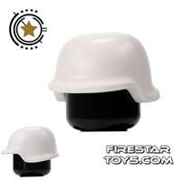 Product shot BrickForge - Military Helmet - White
