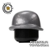 Product shot BrickForge - Soldier Helmet - Silver