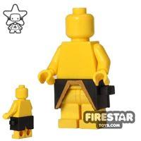 Product shot BrickForge - Waist Armour - Nero Leone