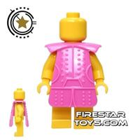 Product shot BrickTW - Ching Dynasty Armour - Pink