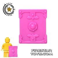 Product shot BrickTW - Rectangle Shield - Pink