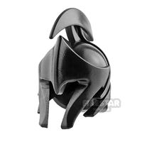 Product shot BrickWarriors - Elf Helmet - Black