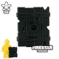 Product shot BrickWarriors - Goblin Shield - Black